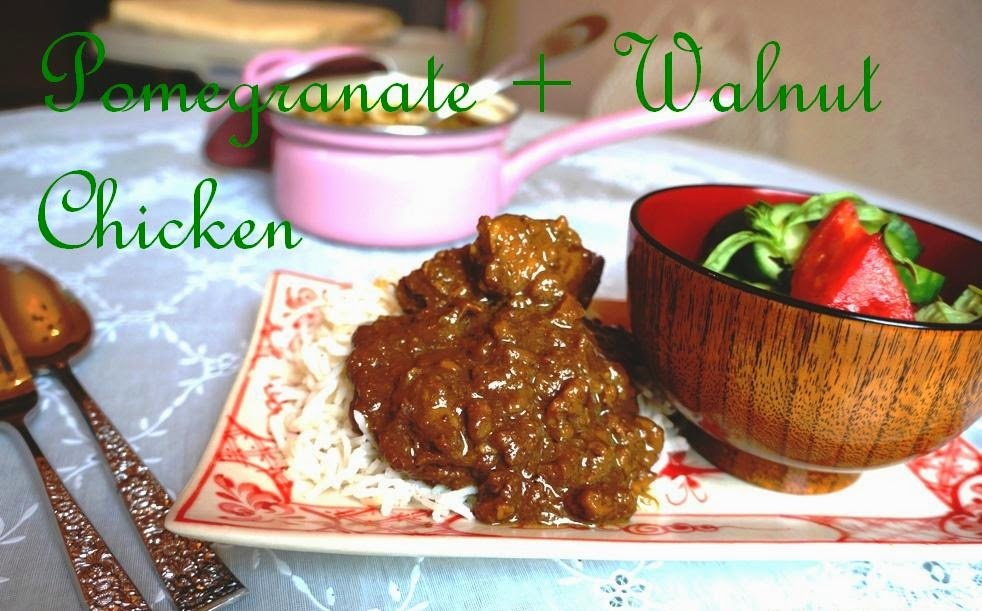 Pomegranate + Walnut Chicken: True Love Fesenjan