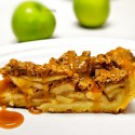 Caramel Apple Crumble Pie, the Best Pie Crust Recipe on the Planet + a GIVEAWAY!