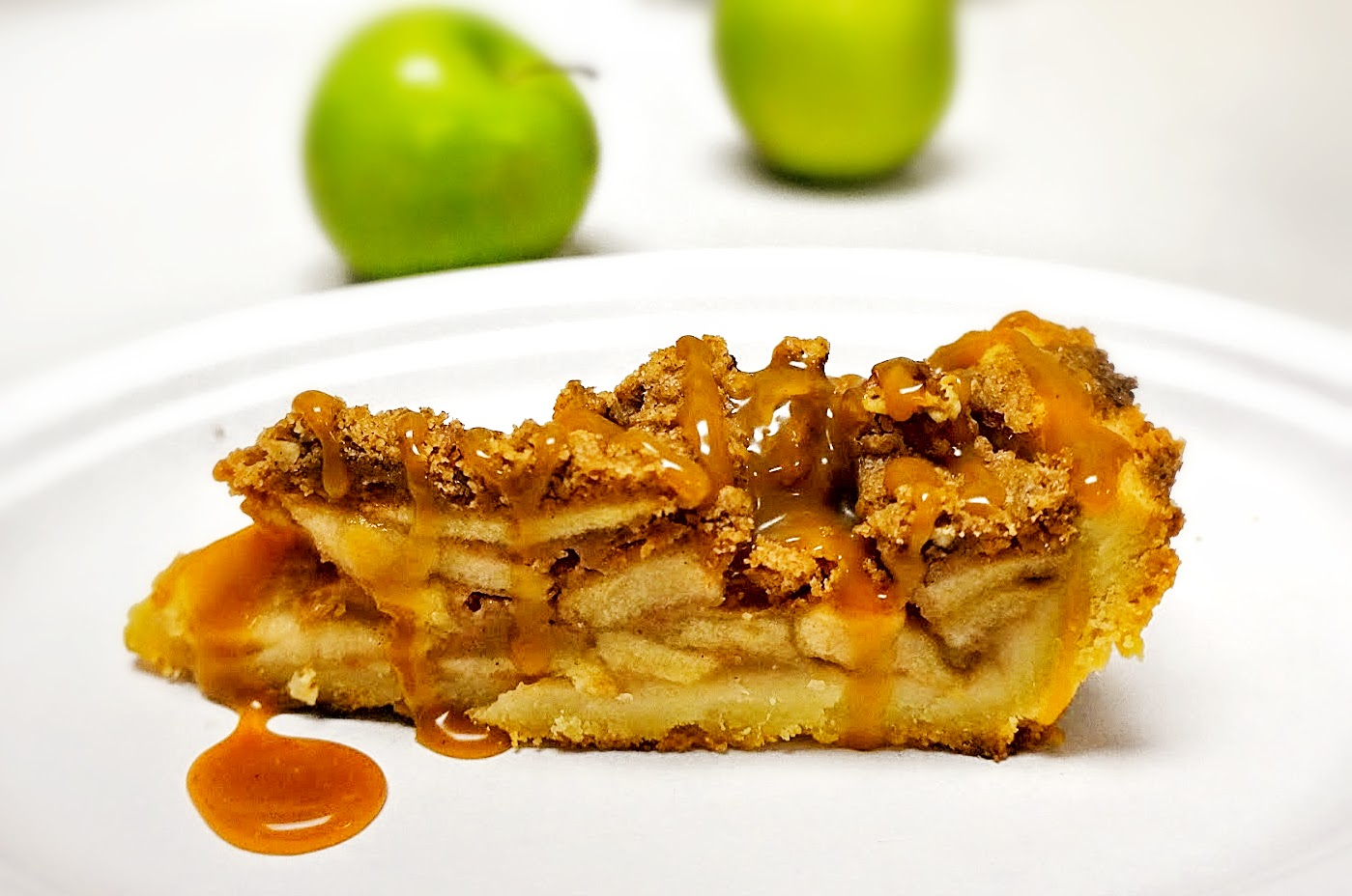 Caramel Apple Crumble Pie, the Best Pie Crust Recipe on the Planet