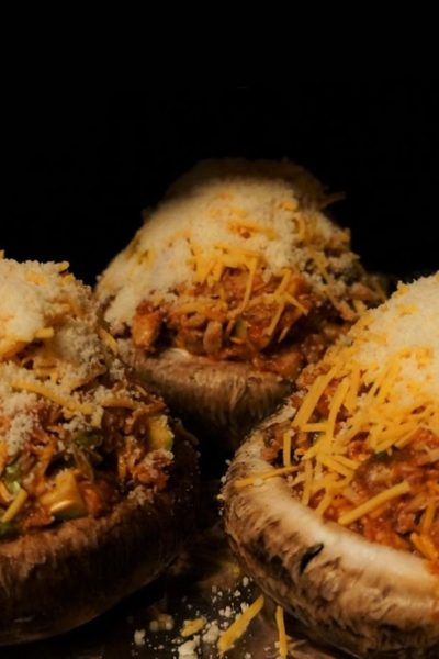 Crab-Stuffed Portobello Mushrooms & $25 Gift Winner Announced!