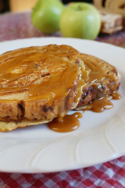 Cinnamon Apple French Toast