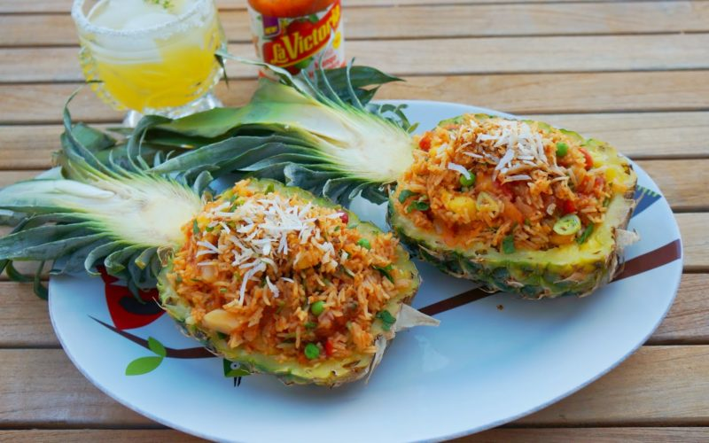 Pineapple Fried Rice Recipe + $500 BBQ Grill Giveaway!