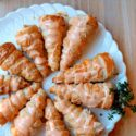Cream-filled Puff Pastry Carrots