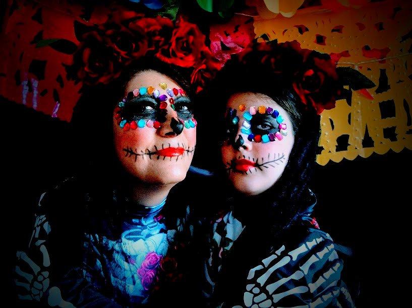 Day of the Dead Make-up Tutorial